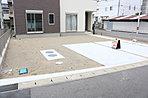 広々駐車スペース