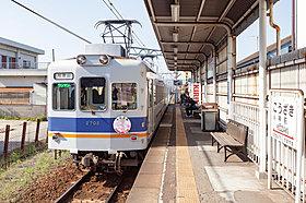 和歌山電鉄貴志川線「神前」駅