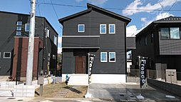 【全棟5LDK プラス1部屋のゆとりの新築住宅】ラビータ小倉台全5棟の外観