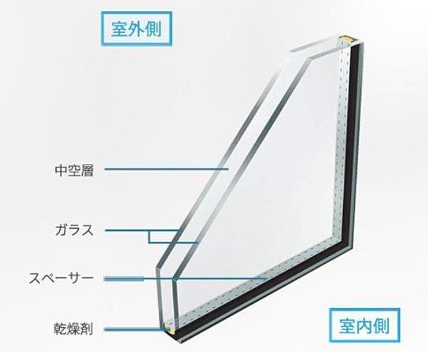 【Low-Eペアガラス】Low-Eガラスの効果により、冷暖房費を抑え、家計にも環境にも優しい住宅に。
