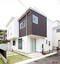 Simple Modern 西小岩の家の外観