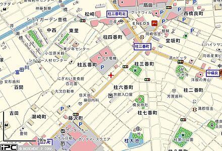 アパマンショップ豊橋柱店 ニンジャ不動産 株式会社の周辺地図