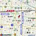 地図,1K,面積20.46m2,賃料6.8万円,JR中央線 武蔵境駅 徒歩7分,JR中央線 三鷹駅 徒歩20分,東京都武蔵野市境南町1丁目