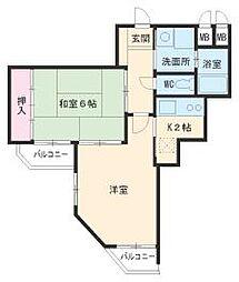 星ヶ丘駅 5.8万円