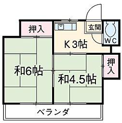 東武練馬駅 4.5万円