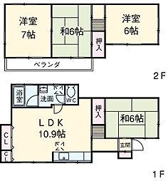 鶴ヶ峰駅 8.6万円