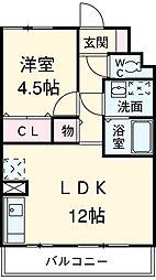名鉄名古屋本線 一ツ木駅 徒歩11分