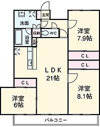 三河安城駅 15.0万円