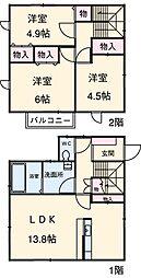 牛田駅 10.5万円