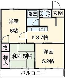 群馬総社駅 4.5万円