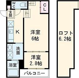 志賀本通駅 6.2万円
