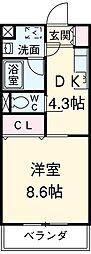 西尾駅 4.3万円