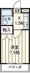江曽島駅 2.5万円