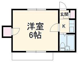江戸川台駅 2.1万円