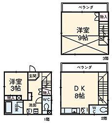 西日暮里駅 11.5万円