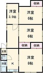 西八王子駅 5.5万円