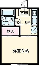 二川駅 2.3万円