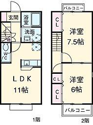 【敷金礼金0円!】千葉都市モノレール 千城台駅 徒歩17分