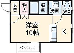 二川駅 4.8万円