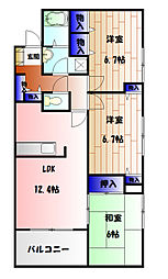二俣川駅 12.8万円