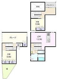 覚王山駅 24.0万円