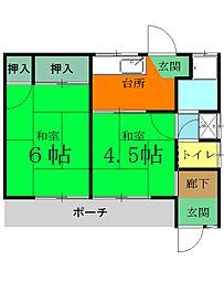 群馬八幡駅 3.3万円