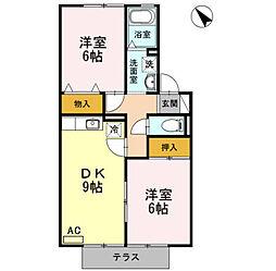 西岡崎駅 6.2万円