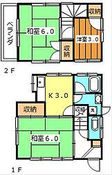 鎌ヶ谷大仏駅 4.0万円