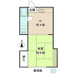 新井薬師前駅 5.5万円