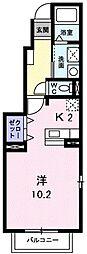 作草部駅 5.5万円