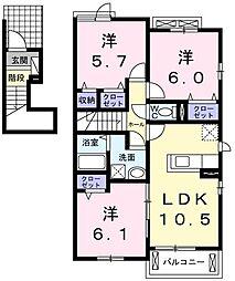 小作駅 6.9万円