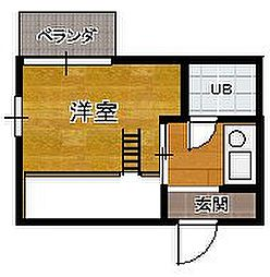 京成大久保駅 2.6万円
