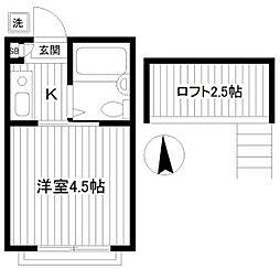 妙蓮寺駅 4.1万円