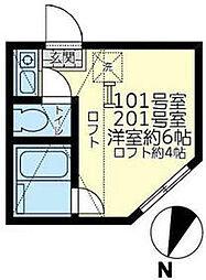鶴見小野駅 5.9万円