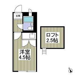 本蓮沼駅 4.2万円