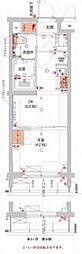 (仮)武蔵小杉フォレストスクエアレジデンス 3階1DKの間取り