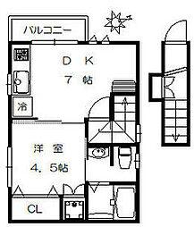 本蓮沼駅 7.9万円