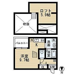中村公園駅 4.8万円