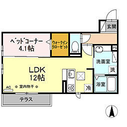 JR御殿場線 長泉なめり駅 徒歩25分の賃貸アパート