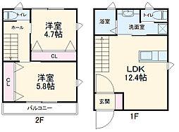 東武宇都宮線 西川田駅 徒歩16分