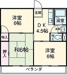 印場駅 4.5万円