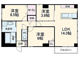 上社駅 12.8万円