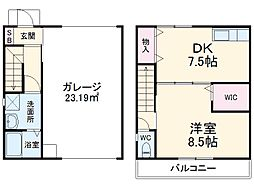 JR東海道本線 清水駅 バス19分 柏尾下車 徒歩2分の賃貸アパート 2階1DKの間取り