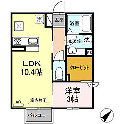 二川駅 5.5万円