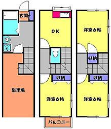 中央線 東小金井駅 徒歩6分