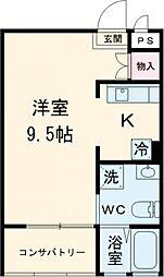 京王堀之内駅 6.3万円