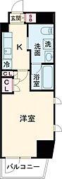 京王線 桜上水駅 徒歩7分の賃貸マンション 5階1Kの間取り