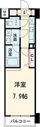 西武池袋線 練馬駅 徒歩12分の賃貸マンション 1階1Kの間取り