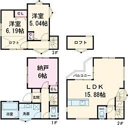 中央線 東小金井駅 徒歩16分