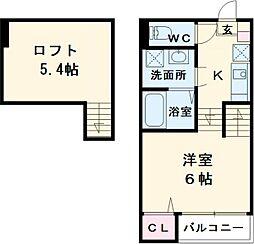 高畑駅 5.1万円